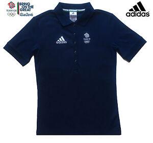 Gb bleu coton Elite marine bleu 2016 Team marine en Adidas Polo adidas Rio UVpzMqSG