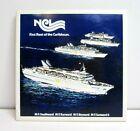 Vintage NCL Norwegian Cruise Ship First Fleet Caribbean Ceramic Souvenir Tile