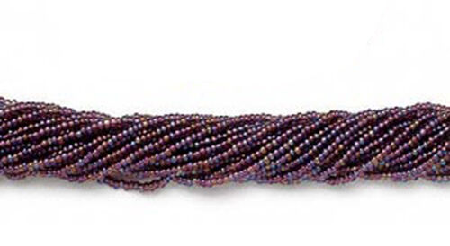 12 Strands Preciosa Czech Glass Seed Beads Size 11//0 Rainbow Colors  Full Hank