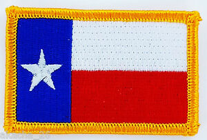 Ecusson Brodé PATCH drapeau TEXAS USA AMERICAIN ETATS UNIS FLAG EMBROIDERED arDnqppC-09095053-191670127