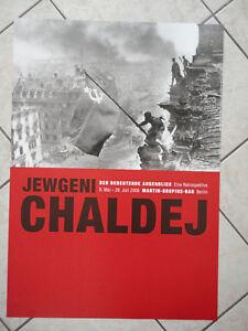 Ausstellungsplakat-Jewgeni-Chaldej-Eine-Retrospektive-2008-Berlin