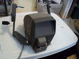 VINTAGE RONDO 110 8mm MOVIE EDITOR 6V 10W LAMP ONLY LIGHT WORKS