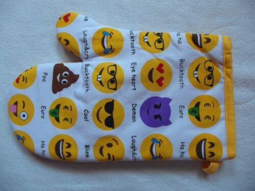 Emoji//EMOTICON Imprimer Four Mitt//Gants