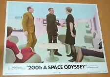 2001 A SPACE ODYSSEY STANLEY KUBRICK 1968 VINTAGE LOBBY CARD #3