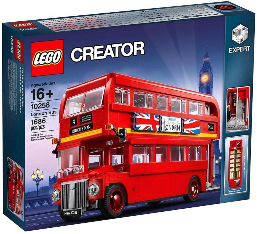 LEGO Creator London Bus Bus Bus Set  10258 7d845a