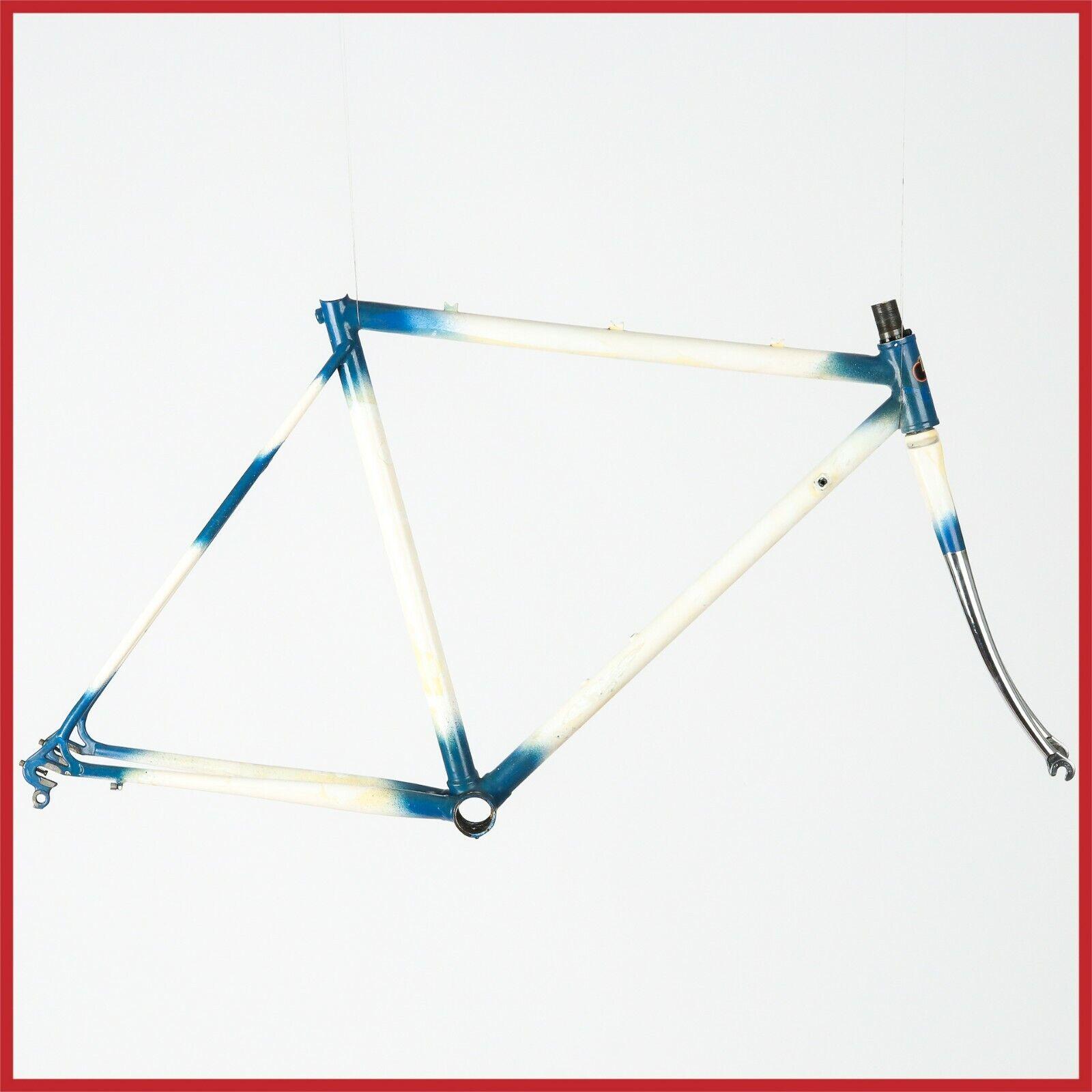Time Trial Inox Cuadro Vintage STELBEL Conjunto de marco de acero 70s 80s Bicicleta GPM CRONO