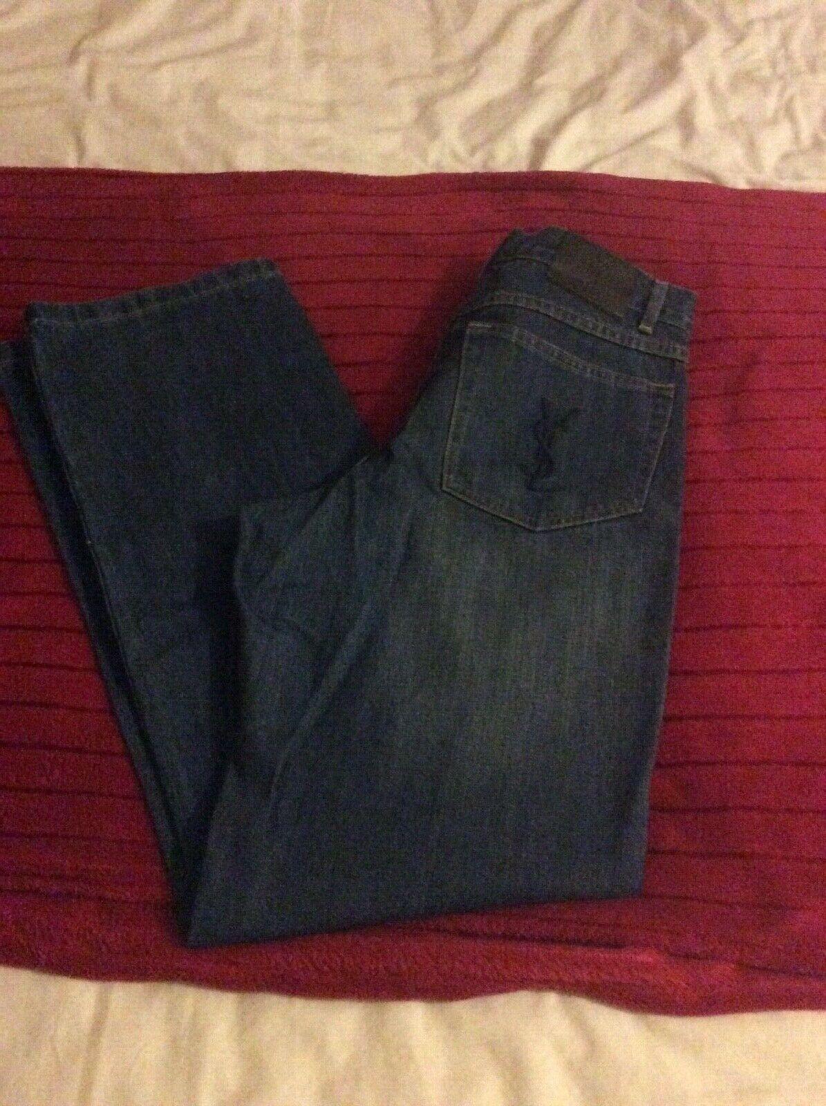 Jeans da Uomo Designer YSL Nuovo Senza Senza Senza Etichetta Taglia Vita 30 Gamba 32 pollici 60bc42