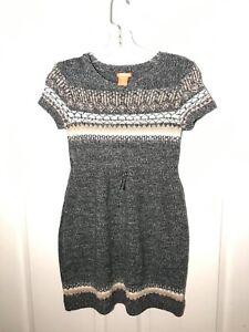 Kid S Knit Sweater Dress Size L 10