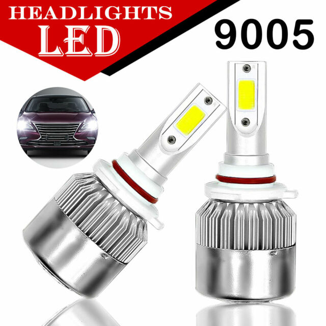 9005//HB3//H10 Front Lamp 8000LM 6000K 72W LED Headlight Super Bright