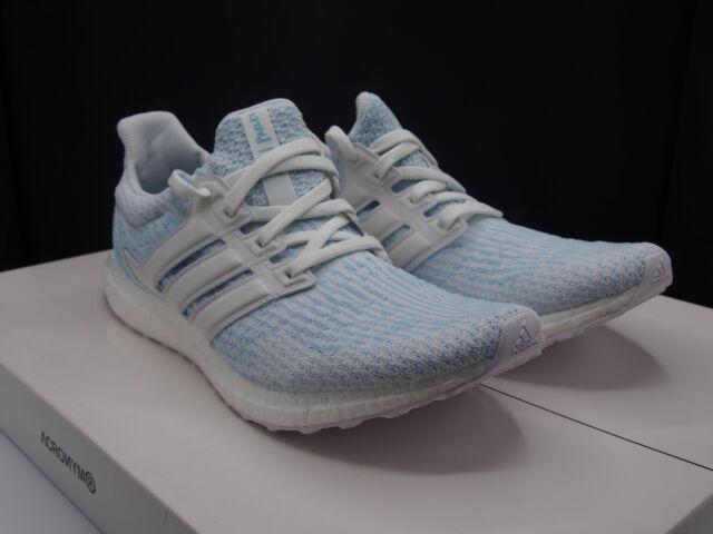 6c1778f4191 adidas Ultra Boost 3.0 X Parley Icy Blue Coral Bleached W receipt ...