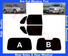 Pre-Cut Window Tint Chrysler PT Cruizer 00-10 Rear Window&Rear Sides Any Shade