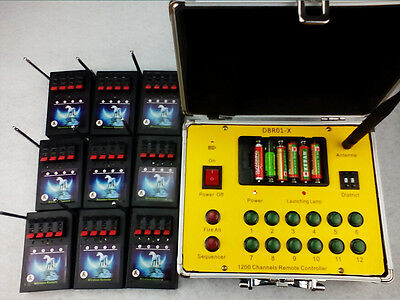 waterproof Remote 15 Cues fireworks firing system Wireless switch Raio fire DHL