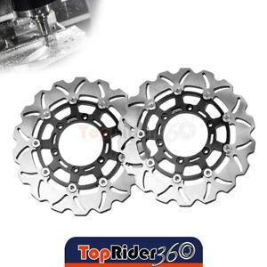 Fit SUZUKI GSXR750 2008-2014 2009 2010 2011 Brake System Front Rear Rotors Set