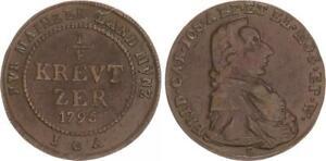 Mainz-1-4-Kreuzer-1795-Ss