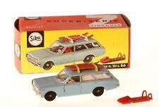 Siku V 272 Opel Rekord Caravan mit Ski + Bob + originale Box
