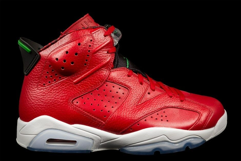 66ec7f4c26 Nike Air Jordan 6 Retro VI History of Jordan 694091-625 MVP Spizike ...