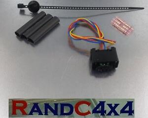 Ymq503220 land rover discovery 3 height sensor wiring harness plug
