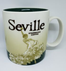 Details About Starbucks Mug Seville Spain Global Icon Extremely Rare