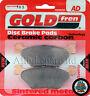 SINTERED REAR BRAKE PADS For: YAMAHA TDM 900 *(2002 2003 2004 2005 2006)* TDM900