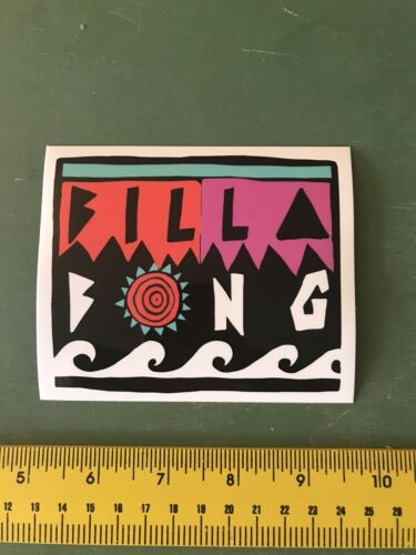 billabong surf sticker