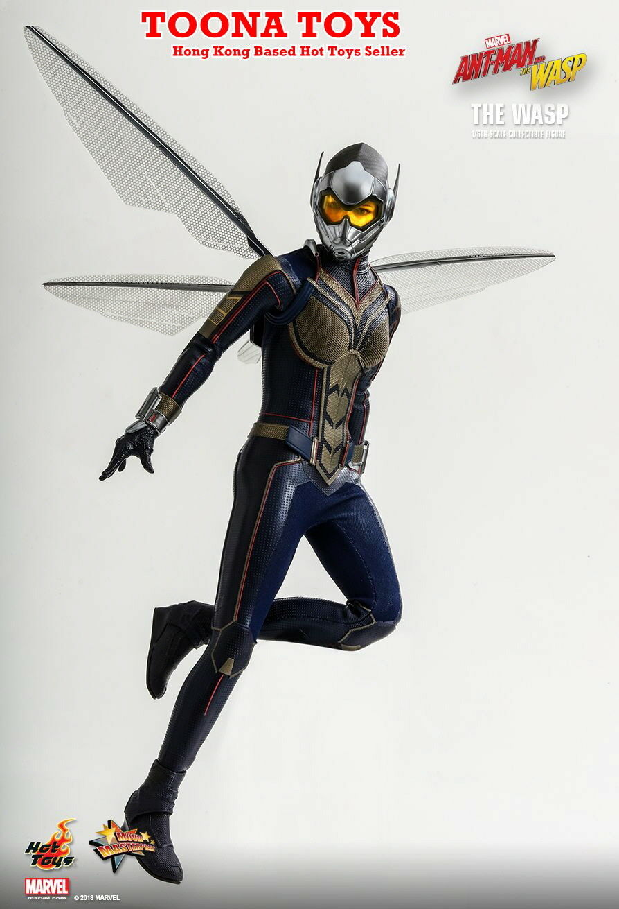 Hot Toys 1 6 MMS498 Antman & The Wasp - The Wasp PRE-ORDER Q3-Q4,2019