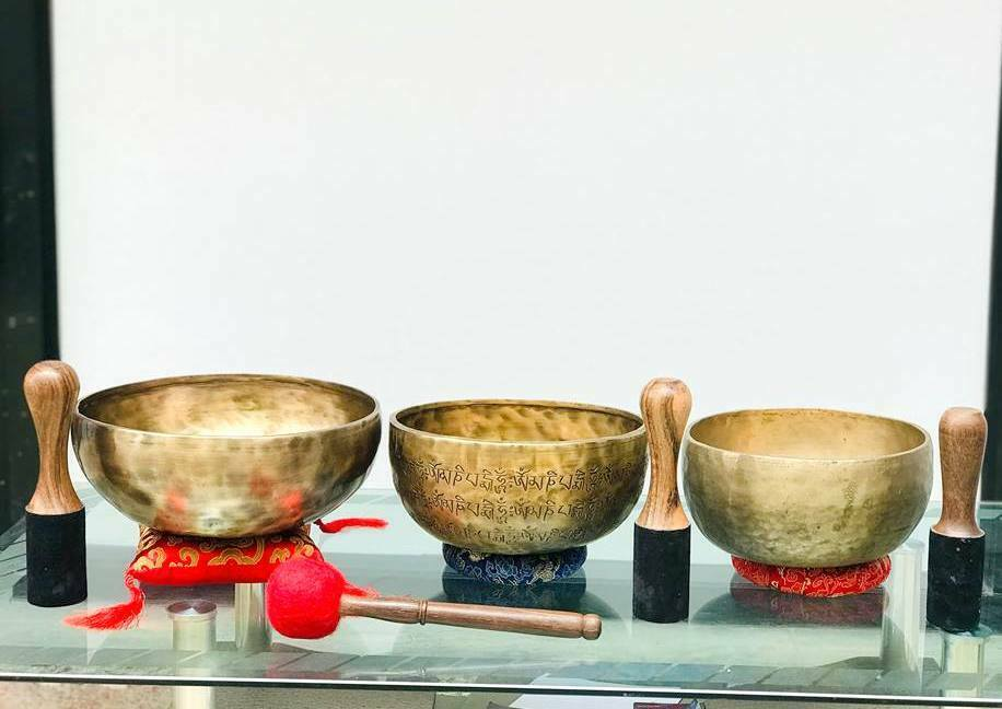 Different Era's Three Energetic Singing Bowl set-Thadobati-Full Moon-Jambati set