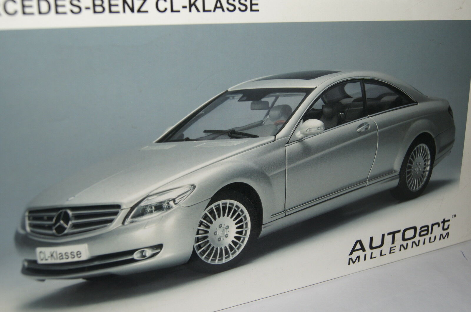 Mercedes CL-clase plata 1 18 Autoart nuevo & OVP 76164