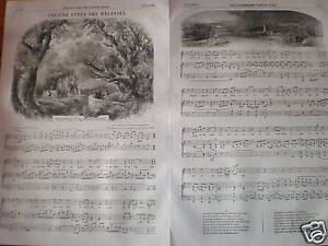 Farewell-the-Woodlands-English-melody-music-sheet-1856