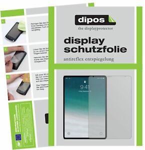 3x Schutzfolie für Apple iPad Pro 12.9 Zoll (2020) matt Displayschutzfolie Folie