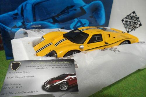 18 Rlg Miniature 40 Iv Gt 1 Test Mk Ford Exoto Car Voiture 18054 Jn Le 1967 Mans qOwP5a