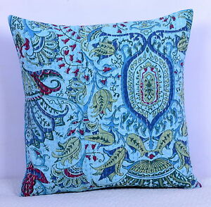 16-034-INDIAN-CUSHION-PILLOW-COVERS-KANTHA-THROW-Ethnic-Decorative-India-Decor-Art