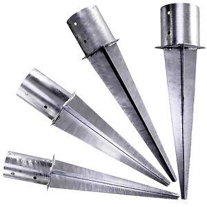 Einschlagbodenhuelse-rund-Einschlaghuelse-Stahl-feuerverzinkt-GAH-1-Stueck