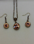 light-peach-swarovski-necklace Indexbild 1