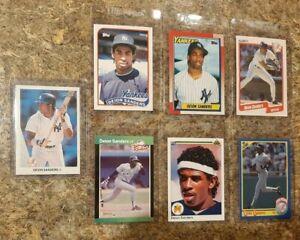 7-Deion-Sanders-1989-1990-Donruss-Topps-Leaf-Upper-Fleer-Rookie-card-lot-RC