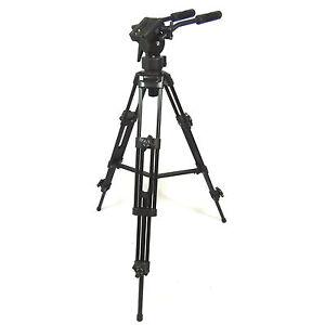Kit-Video-Cavalletto-Treppiede-Professionale-EL9901-con-Testa-Fluida