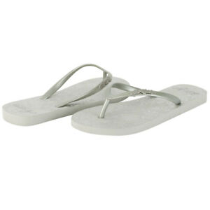 968ea3656e525a Image is loading Ed-Hardy-Capistrano-Flip-Flop-for-Women-Silver