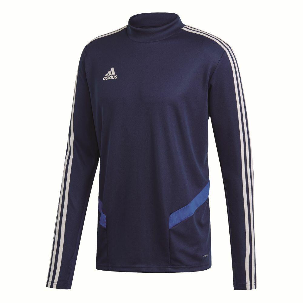 Adidas Footbtutti Soccer uomini sport Training lungo Sleeve Thumb Hole Top Mock Neck