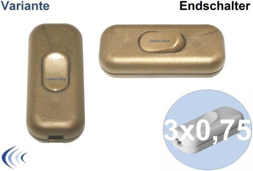 schaltend 1//5 pezzi finecorsa filo-INTERRUTTORE DI CAMBIO 2//3 adrige tubazione 1-pol