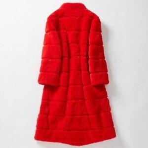 online store Women Real Fur Coat Natural Full Belt Rex Rabbit Fur ...