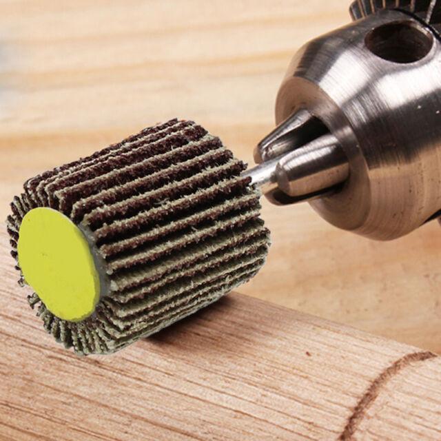 5 pcs/[ack Grit Flap Wheel Sander Disc Polishing Pad Set for Rotary Tools Rotary