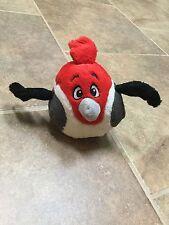 """2011 Angry Birds Rio Pedro Cardinal stuffed plush  6"""" j81"""