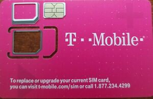 Brand-New-T-Mobile-4G-LTE-TRIPLE-CUT-Sim-Card-Unactivated-Tmobile