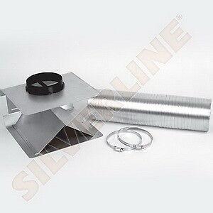 Silverline umluftset uset 36 composé de flexibles et matériel de montage
