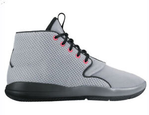 Nike Big Kids  Air Jordan ECLIPSE CHUKKA GG Shoes Wolf Grey Black ... 1e2f98773