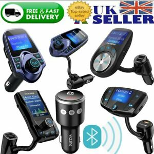 Details about Victsing Wireless Bluetooth Car MP3 Player FM Transmitter Radio Hand Free Charge