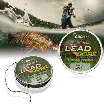 20m Multifilament Braided Camouflage Carp Fishing Line Fishing Accessories