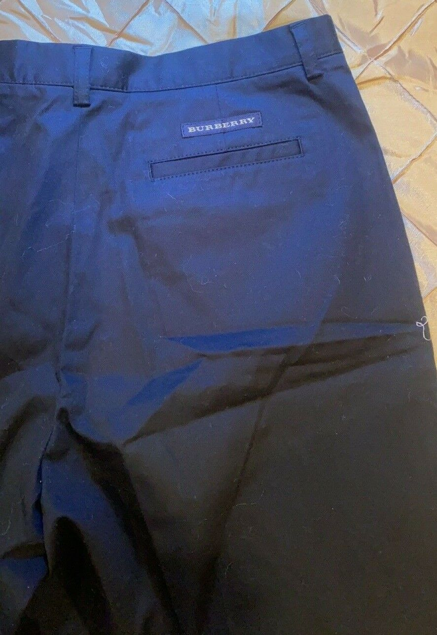 BURBERRY GOLF FABULOUS SHORTS TAILORED BLACKWITH … - image 5