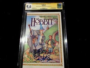 Hobbit-1-SS-CGC-9-6-Signed-by-Wood-Astin-amp-Boyd-One-of-a-kind