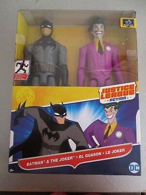 "Mattel DC Universe JUSTICE LEAGUE the joker Action Figure 4.5/"" old  #d3"