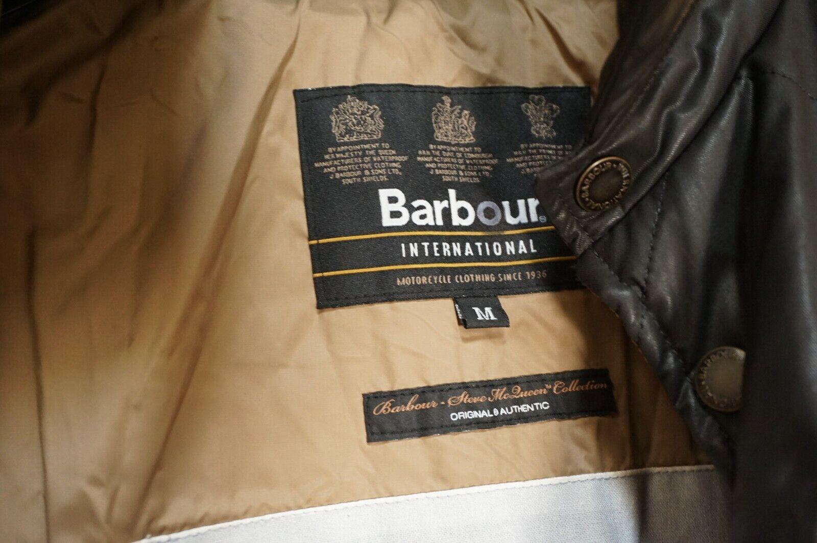 MINT   $395 BARBOUR INTERNATIONAL COTTON WAX SHIR… - image 6